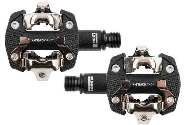 LOOK X-Track Race Mountain Bike Clipless Pedals w// Cleats